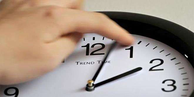 Le changement d'heure pour bientôt