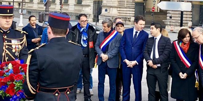 Hommages à Brahim Bouarram — Paris
