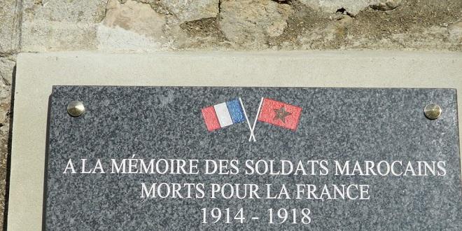 France : Hommage aux tirailleurs marocains