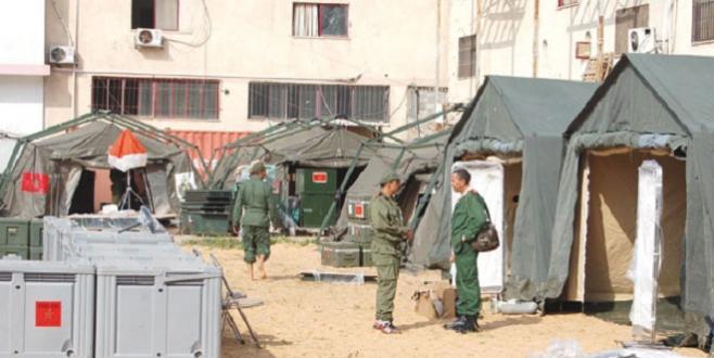 Le Maroc déploie un hôpital de campagne à Gaza