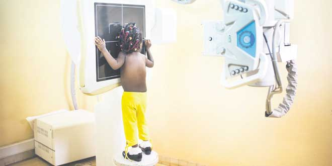 De la radiologie spécialement pour les hôpitaux du Sud