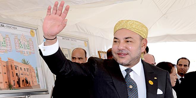 Rabat : Inauguration par le Roi du Complexe socio-éducatif, sportif et médical intégré «Ennahda»