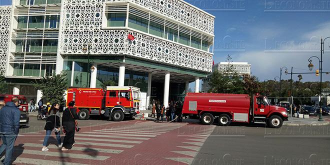 Rabat : Un incendie s'est déclenché à Arribat Center