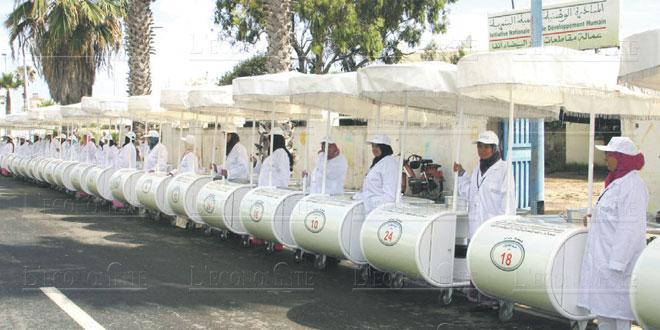 Rabat : 10,4 millions de DH pour les promoteurs de projets