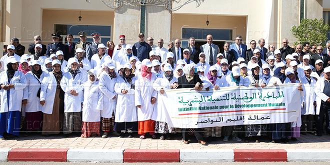 INDH : 52.000 femmes bénéficient des projets générateurs de revenus