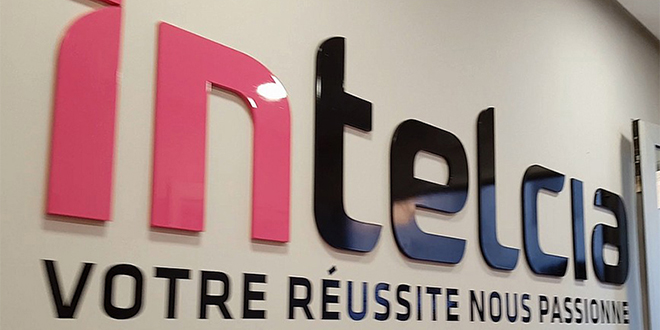 Intelcia retouche son organisation