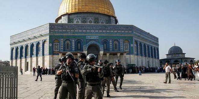 Jérusalem : Sécurité renforcée en vue de la prière du vendredi