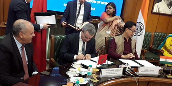 Justice : Accord maroco-indien