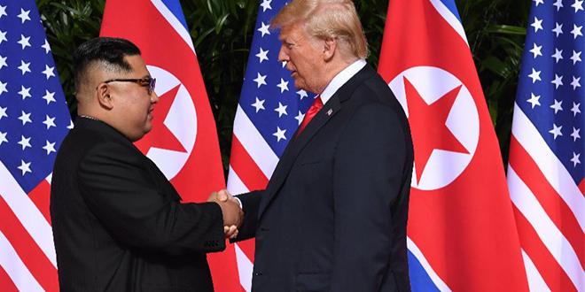 Trump et Kim Jong-Un s'engagent sur quatre points