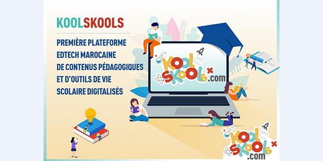 Ecole digitale: Koolskools déploie la 1re plateforme marocaine