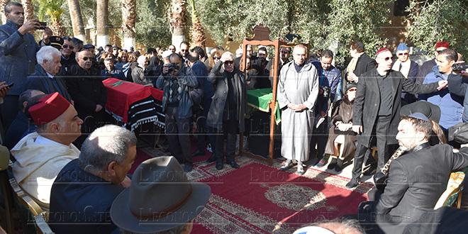 Fès : Laftit aux obsèques du docteur Armand Guigui