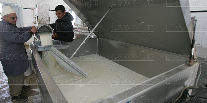 The HCP analyzes the milk industry