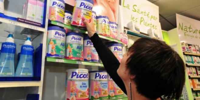 Lait infantile contaminé: suspension de la commercialisation du lait «Picot»