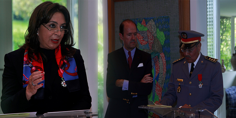 Légion d'honneur pour deux Marocains