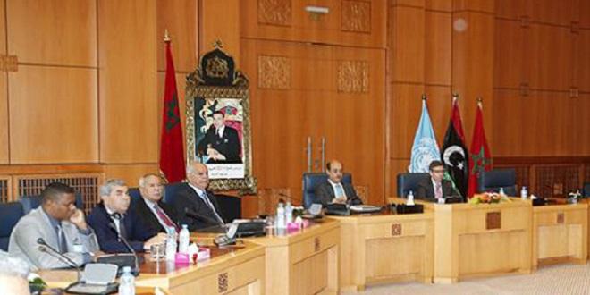 Le dialogue libyen débute au Maroc