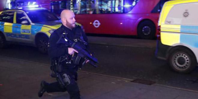 Londres: signalement de fusillade à Oxford Circus