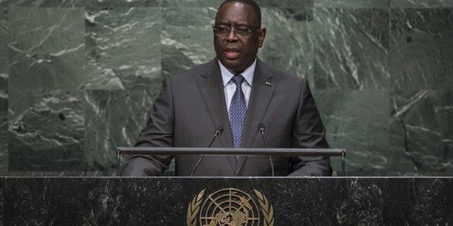 Macky Sall: «Il est temps de donner à l'Afrique la place qu'elle mérite»