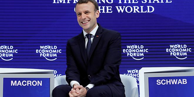 """Suisse: Macron veut """"une plus grande intégration"""" dans l'UE"""