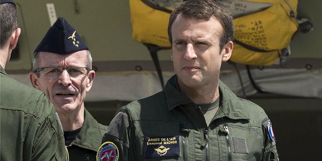 """Macron: """" effort budgétaire inédit"""" pour la Défense"""