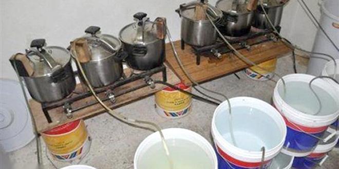Grosse saisie d'eau-de-vie à Sidi Bennour