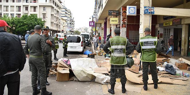 Fès : Opération coup de poing contre les marchands ambulants