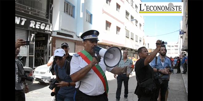 VIDEO-Al Hoceima : La police dissuade les manifestants... en vain