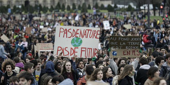 Nouvelle marche pour le climat à Paris