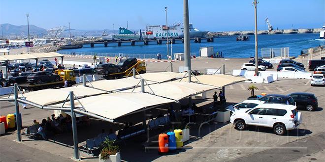 TangerMed : Près de 100.000 passagers en un week-end !