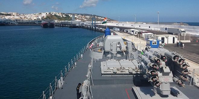 La Marine Indienne en visite à Tanger