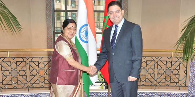Maroc-Inde : 4 mémorandums d'entente signés