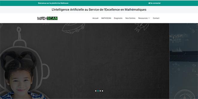 Mathscan: plateforme e-learning de mathématiques gratuite pour tous