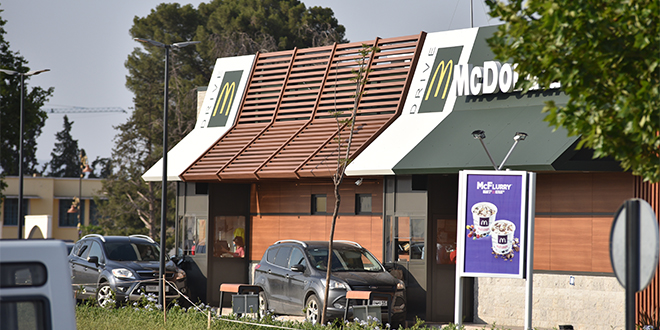 Grand rush sur les McDonald's