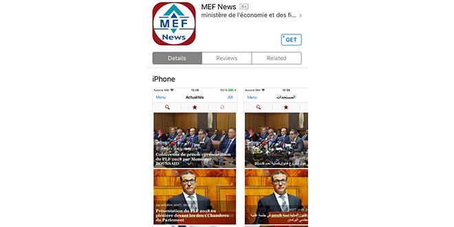 Une application mobile pour le département Boussaid