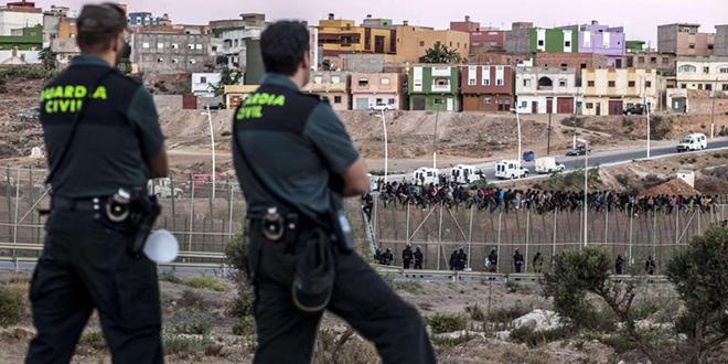 Melilia : Attaque au couteau contre un policier
