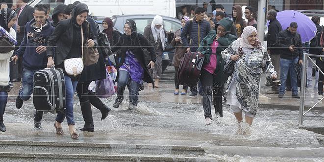 Averses et météo instable