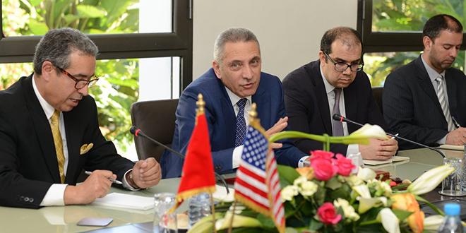 Investissements : Elalamy reçoit des membres du Congrès US