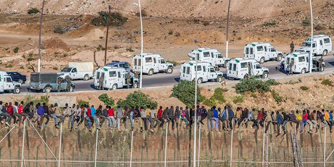 Le Maroc recevra des véhicules pour contrer les assauts des migrants