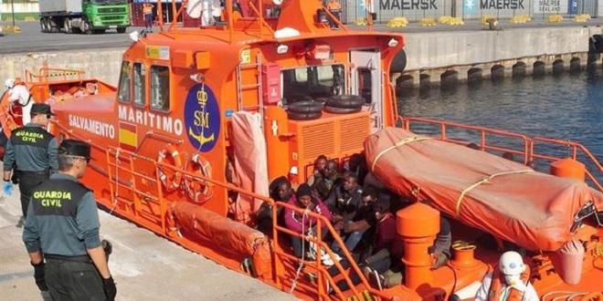 Espagne : 600 migrants secourus en mer