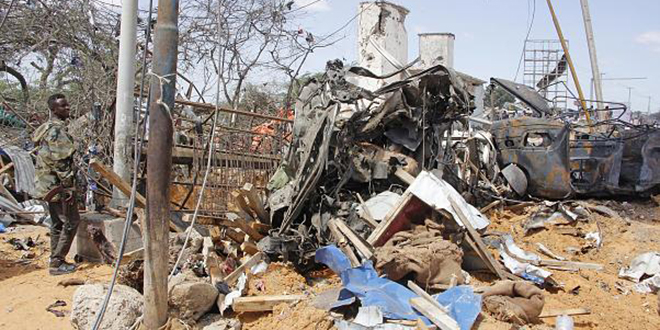 Attentat meurtrier à Mogadiscio