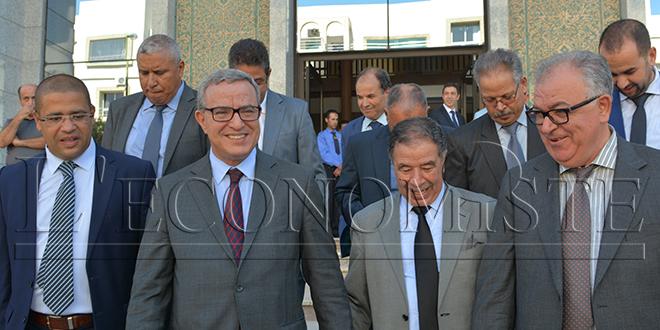 Aujjar s'enquiert des projets de la Justice à Fès