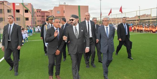 Marrakech : Le Roi inaugure deux projets sportifs de proximité