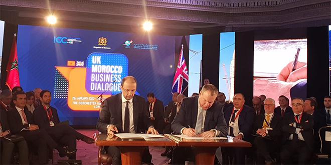 Le Maroc et le Royaume-Uni cherchent à booster leurs échanges