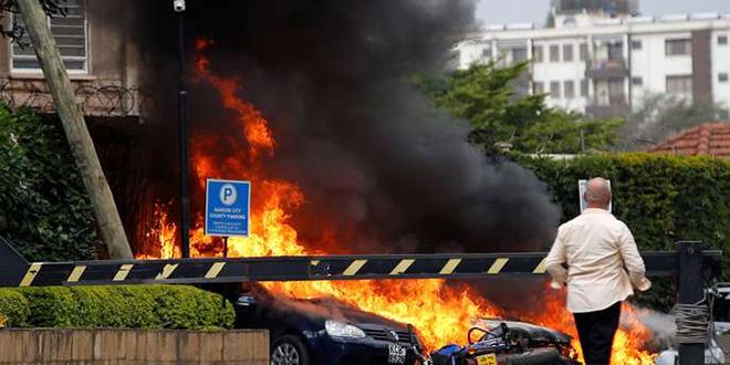 Fusillade dans un complexe hôtelier de Nairobi