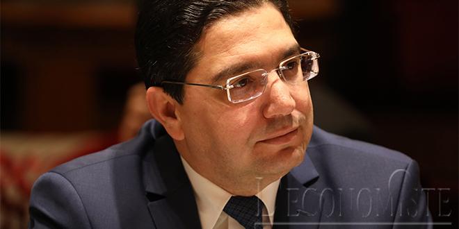 Nasser Bourita chez le Prince Héritier du Koweït
