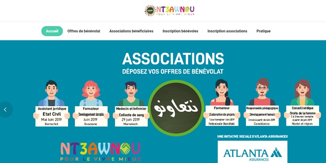 Atlanta Assurances lance une plateforme de bénévolat