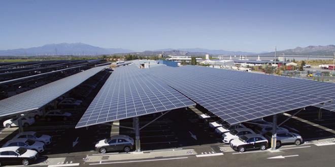 Ombrière solaire: L'Amee et l'Iresen lancent un concours