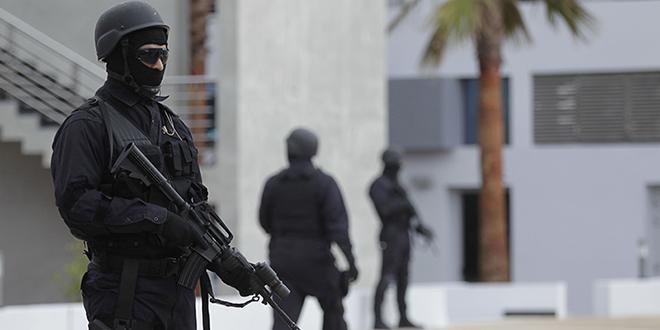 Cinq présumés terroristes arrêtés à Nador