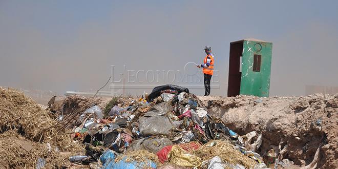 Rhamna: Un centre d'enfouissement des déchets en gestation