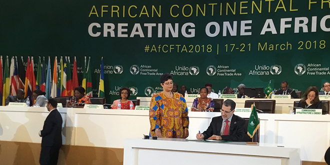 ZLE continentale africaine: Le Maroc signe l'accord