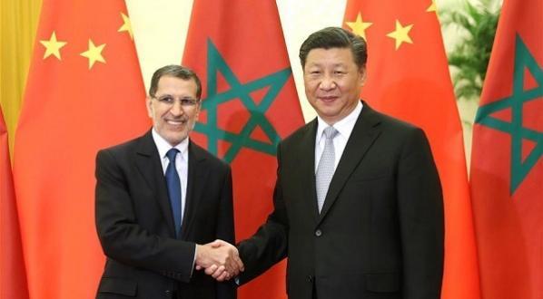 El Othmani reçu par Xi Jinping